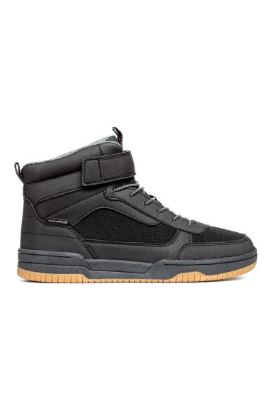 Waterproof hi-tops - Black - Kids | H&M CN 1
